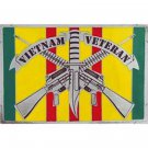 United States American Vietnam Veteran Rifles Belt Buckle