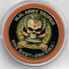 US Army One Shot One Kill Challenge Coin