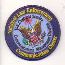 LEGACY NATIONAL LAW ENFORCEMENT COMMUNICATIONS CENTER Novelty Patch