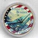 USAF B-2 SPIRIT Stealth Bomber Challenge Coin