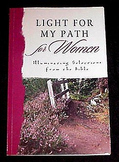 Light for My Path for Women! Book with Inspiring Illuminating Selections from the Bible! BEST SELLER