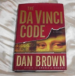 The DA VINCI Code! A Must Read ADVENTURE Mystery THRILLER! DaVinci Hardcover Book by Dan Brown!