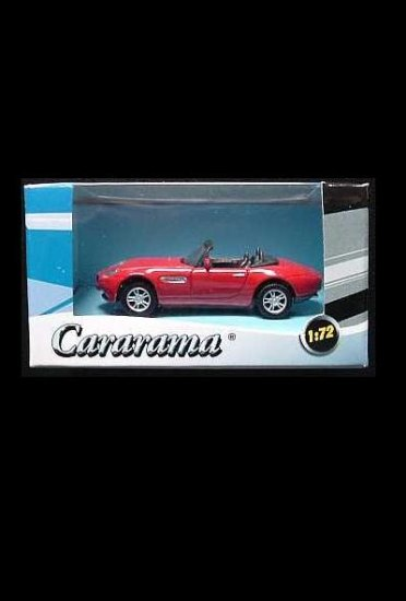 BMW Z8 CABRIOLET 1:72 CARARAMA SCALE MODEL