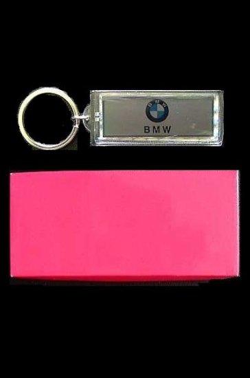 BMW SOLAR POWER FLASHING KEY RING IN GIFT BOX