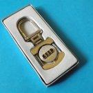 AUDI POLISHED STEEL KEY RING  STYLISH LOCK DESIGN