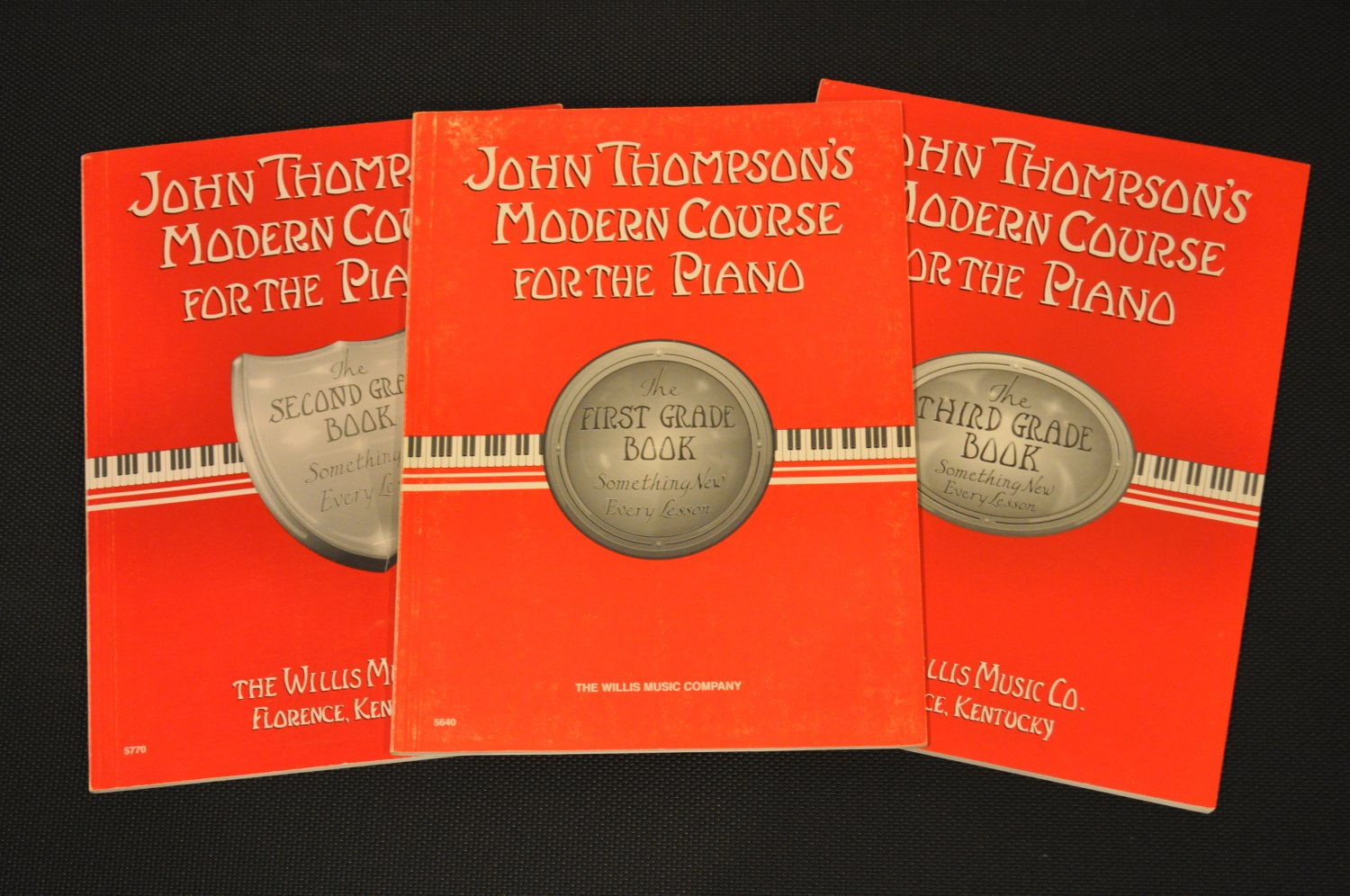 John Thompson's Modern Course For the Piano- Books 1-3 Pack