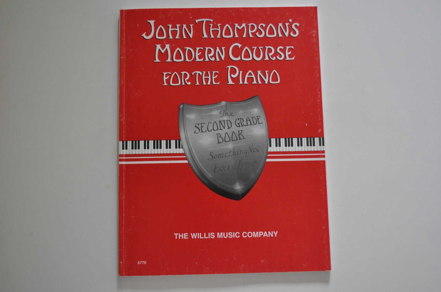 John Thompson's Modern Course For the Piano - the 2nd grade book