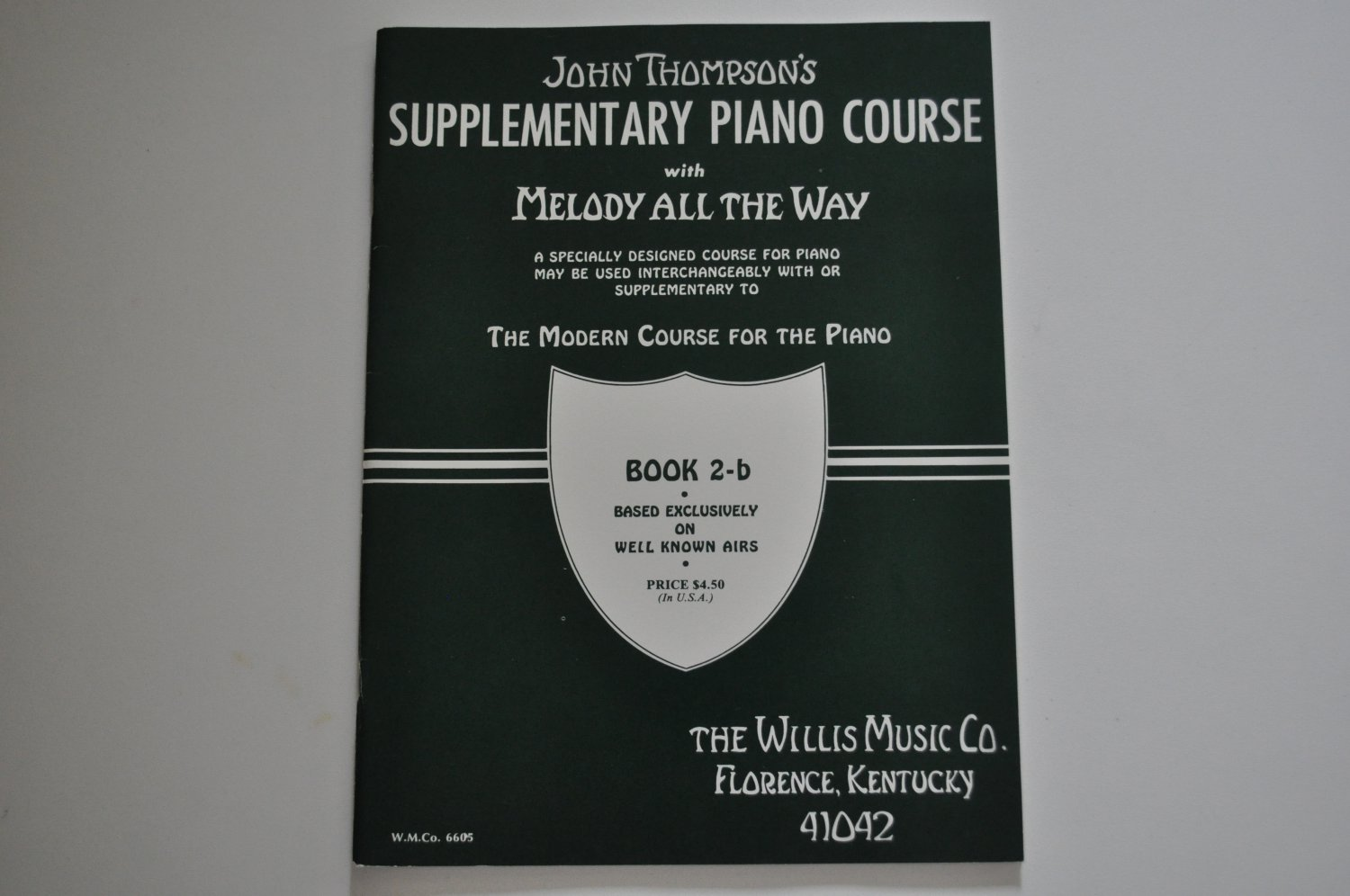 John Thompson's Supplementary Piano Course (with Melody All the Way) - book 2-b
