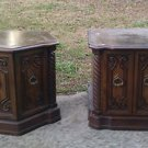 Vintage wood End tables 1975