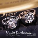 Uncle Uncle 18K Real Gold Plated Classic Lady Wedding Ring