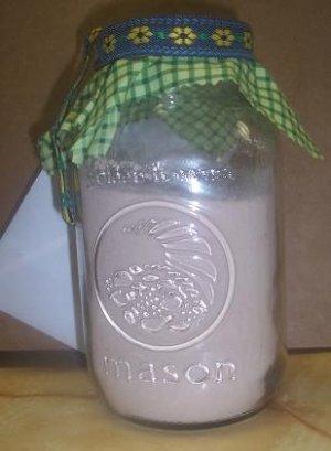 Jubilant Jars- Blissful Beverages:  Chocolate Mint Creamer