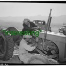 """*NEW"""" MANZANAR RELOCATION CENTER, CA +(8.5X11) OLD LARGE ANTIQUE TRACTOR PHOTO"""
