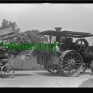 "*NEW"" STEAM PULLING GRAIN S. OHIO, 1938 (8.5X11) OLD LARGE ANTIQUE TRACTOR PHOTO"
