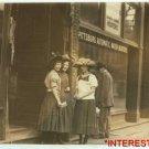 New Studio Quality Antique RP Photo: 3 Girls working for Salvan Medicine Factory