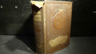ANTIQUE/VINTAGE BOOK: BOUND VOLUME 55 1929 NATIONAL GEOGRAPHIC MAGAZINE
