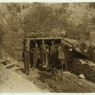 Old Vintage PHOTO PICTURE PRINT: DRIFT MOUTH, SAN LICK MINE, GRAFTON, WV, HORSE