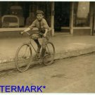 """*NEW* Antique Bicycle Photo:(8X10) """"Percy Neville"""", MacKay Telegraph Company, #6"""