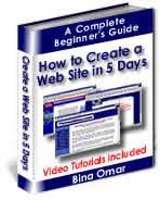 Build a Website in 5 Days Ebook