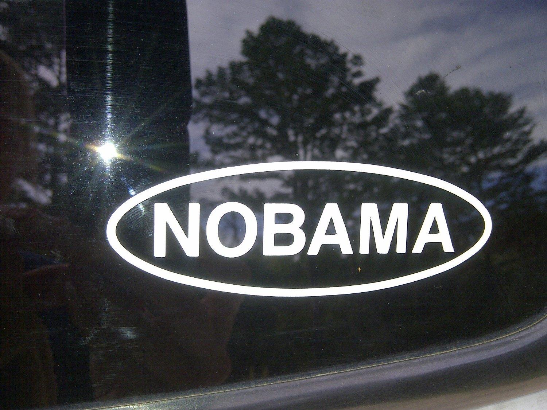 NOBAMA Die-cut sticker