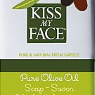 Kiss My Face Pure & Natural From Greece Fragrance Free Olive Oil Soap 8 oz