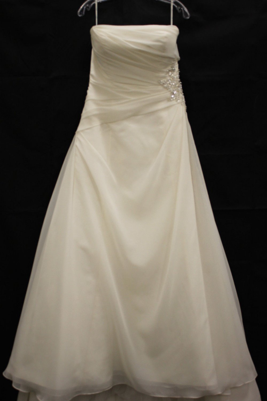 Enzoni Blue Designer wedding gown size 12