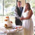 Halter top Ivory size 16W wedding gown