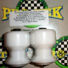 Pro-tek Swing Arm Spool Slider Suzuki 1997 1998 1999 2000 2001 2002 GSXR600 GSXR-600 White SAS-20W