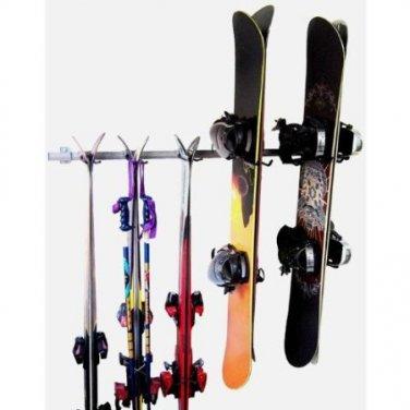 Ski Snowboard Storage Rack by Monkey Bars