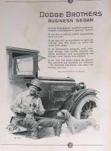 1923 Dodge Business Sedan Prince Art Ad Hamilton Watch