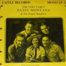 The Very Early Patsy Montana and Prairie Ramblers LP 33 Record Signed LTD 1000 VERY RARE