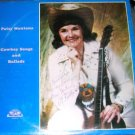 Patsy Montana Cowboy Songs and Ballads LP Signed RARE