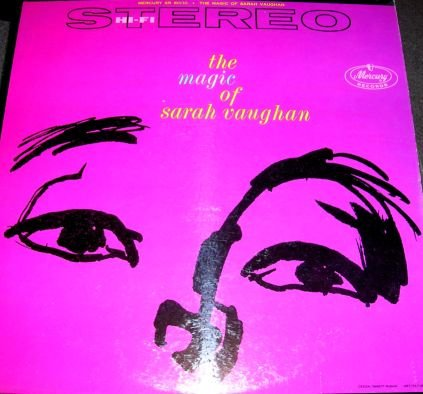 No Count Sarah - Sarah Vaughan RARE LP Record