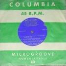 "RARE Columbia 7"" LP Various Artists HiFi Test Record NM"