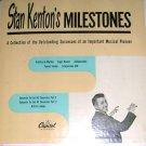 Stan Kenton Milestones 2 Record Set 8 Songs 45 EP NM