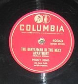 Peggy King with Percy Faith Orchestra, Gentleman In Next Apartment 78