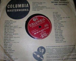Ken Griffin Jerry Wayne Vintage 78 Record