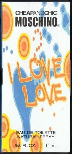 Mini Perfume MOSCHINO *I LOVE LOVE* Size.3/8 FL.OZ-11ML
