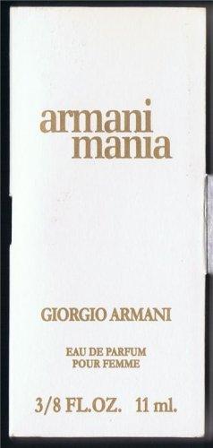TRAVELSIZE  armani mania Size 3/8 FL.OZ,11 ml