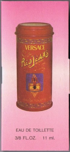 Travel size VERSACE *Red Jeans Woman*  Siz.3/8 FL.OZ-11ML