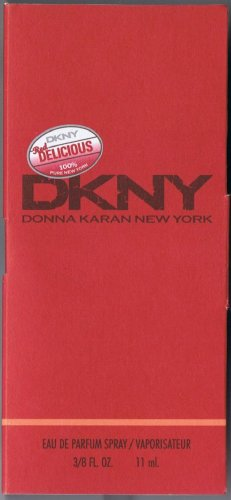 Travelsize DKNY  *RED DELICIOUS * Sz.3/8 FL.OZ-11ML