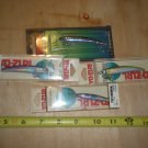 "(4) Yo-zuri Pin's Minnow floating lures, trout,bass,walley, 2.75"" & 2"", NOS"
