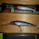 (2) Rapala X-Rap Magnum 20, XR-MA20 S, Diving Tuna,Wahoo,Yellowtail Lures, New