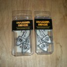 (2) Pks Big Hammer Hammer Head Plain Jig Heads,1 oz,4/0 Hooks for swimbaits, New