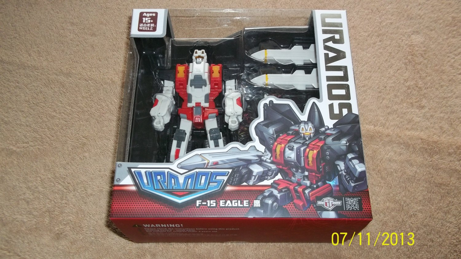 Transformers TFC Toys Project Uranos F-15 Eagle Combiner Superion MISB