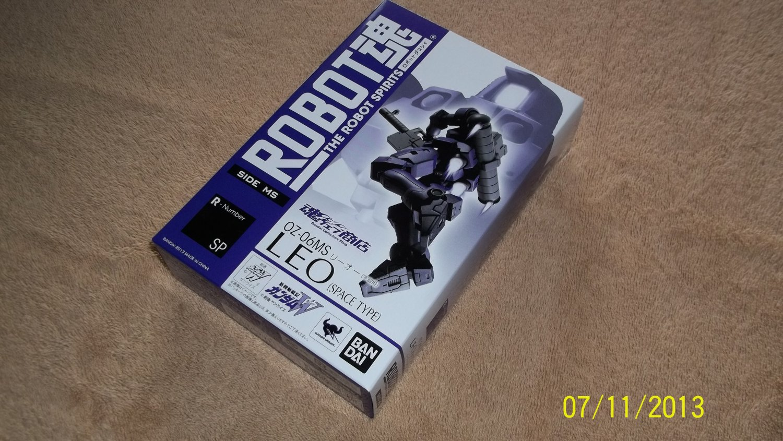 Bandai Robot Spirits Damashii R-122 OZ-06MS Leo Space Type Gundam Wing MISB