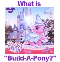 """What is """"Build a Pony""""?"""