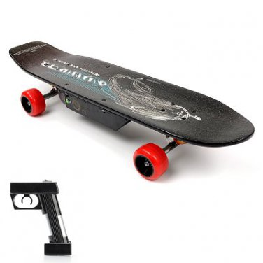 Electric Skateboard 'E-Street Board' - 150W Motor, 24V 10000mAh Battery, 10KPH Speeds,
