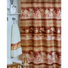 Sabu Elephants Palm Trees Shower Curtain Popular Bath