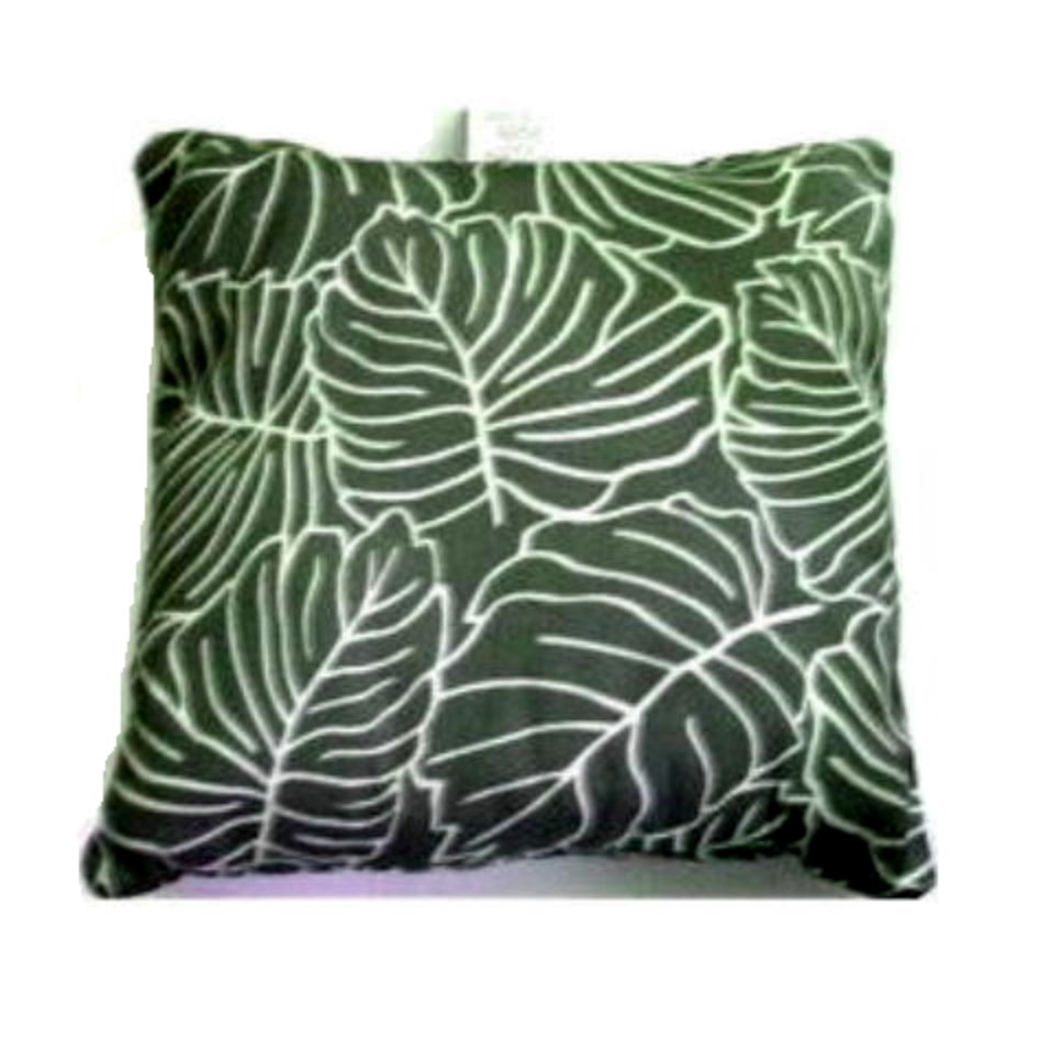 Tropical Pillow Del Ray Botanical Leaf