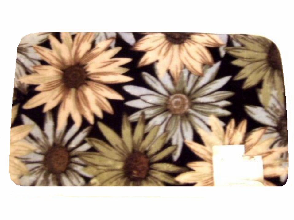 Floral Sunflowers Rug Comfort Mat